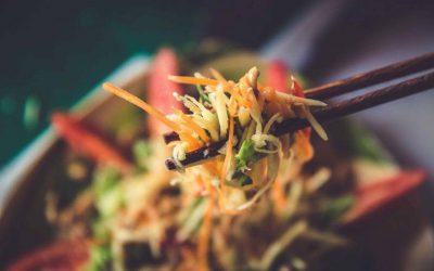 Vietnamesischer Mango Salat