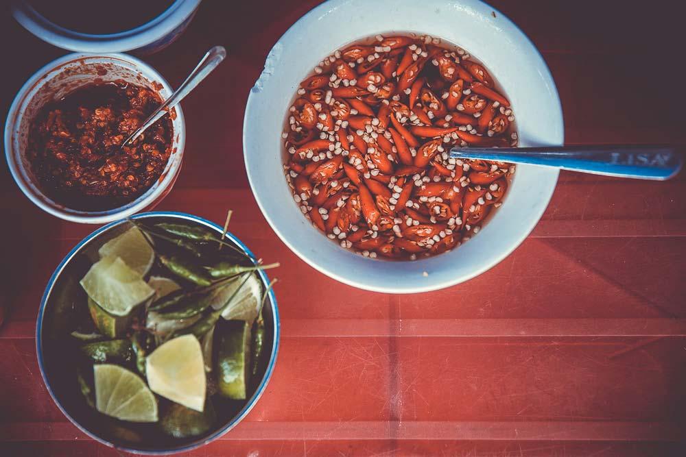 Chilli und Limetten