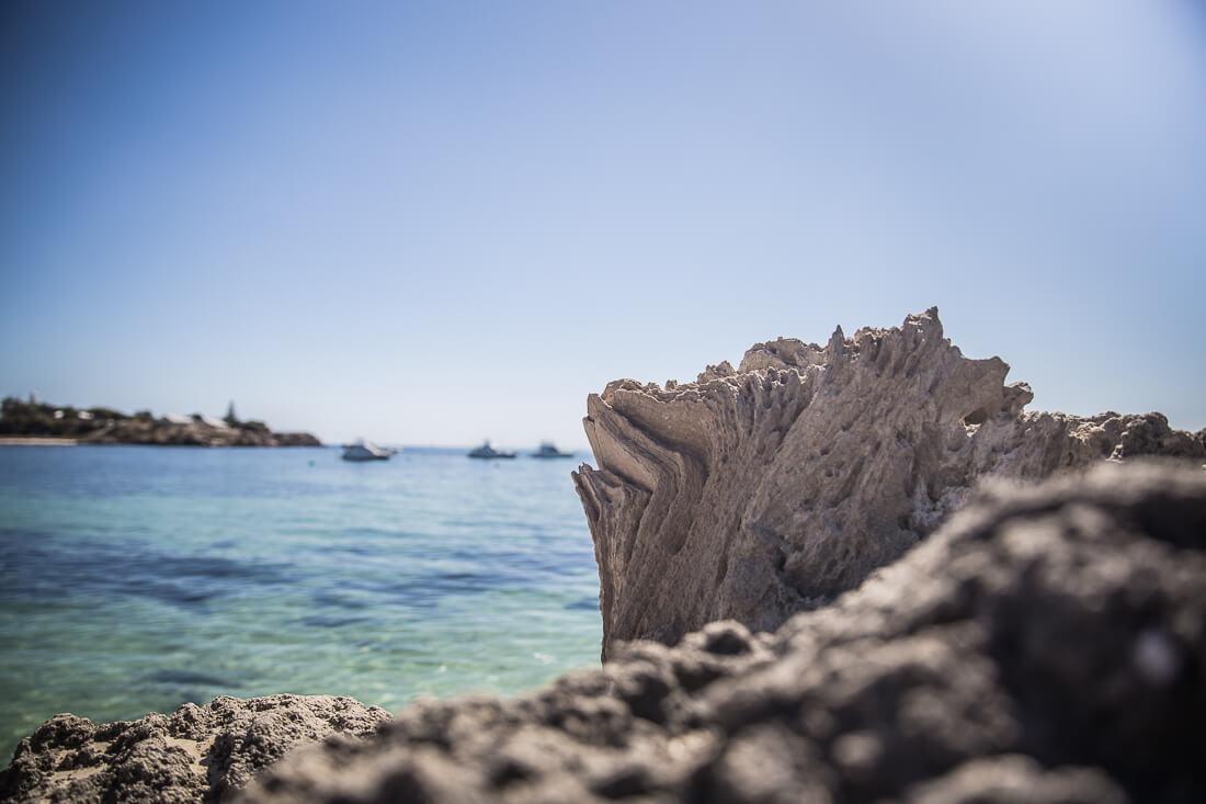Strand von Rottnest Island