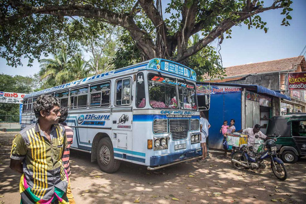 Bus in Negombo
