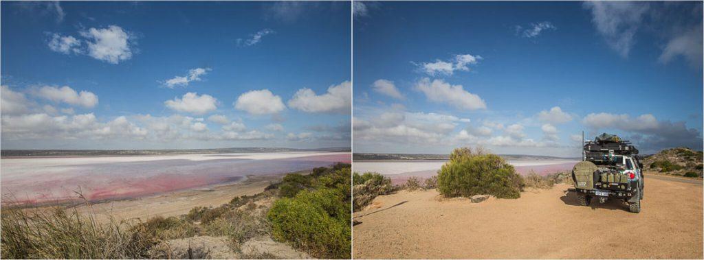 Pink Lake Australien
