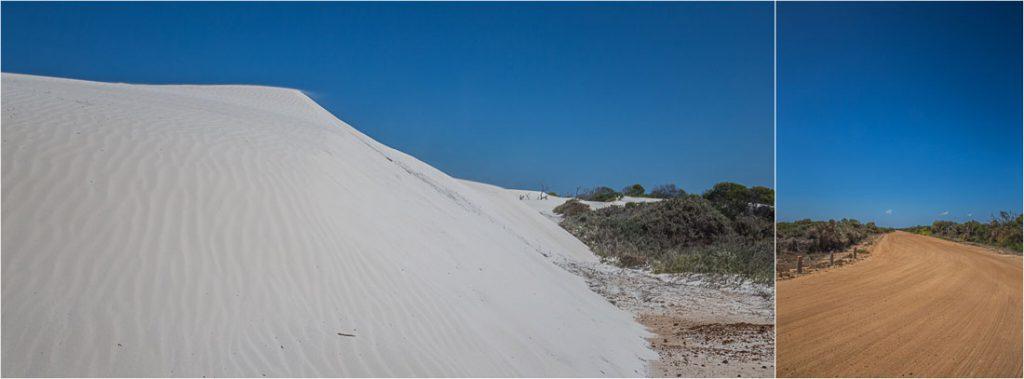 Sanddüne in Australien