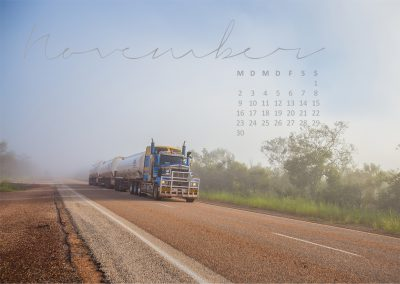 Australien Kalender November