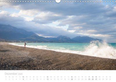 Neuseeland Kalender Dezember