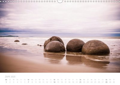 Neuseeland Kalender Juni