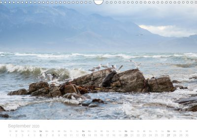 Neuseeland Kalender September