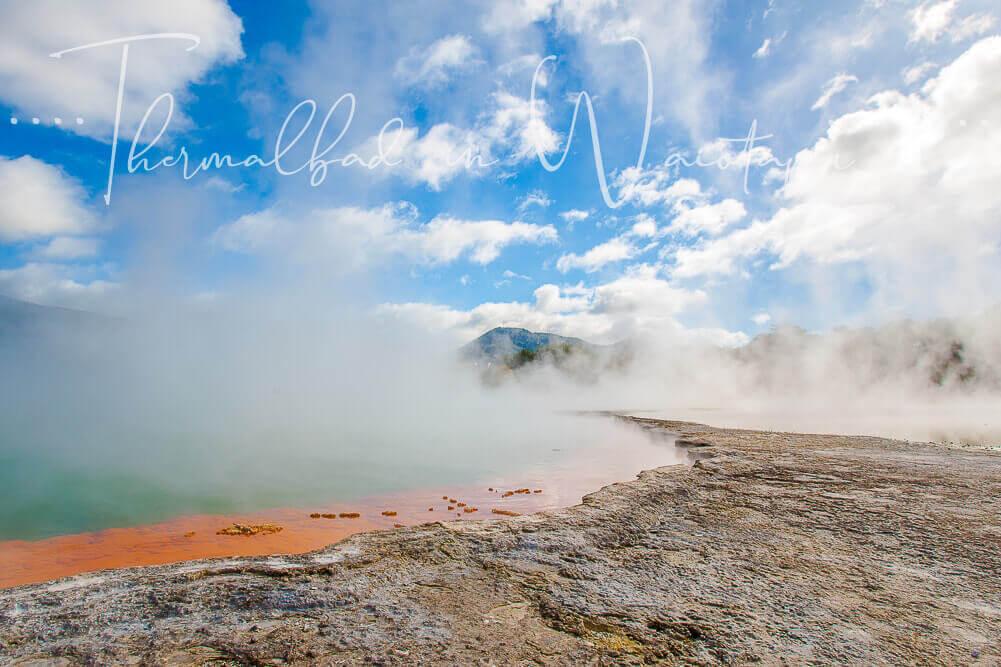 Thermalbad in Waiotapu, Rotorua