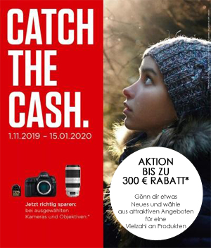 Canon Cash Back Aktion