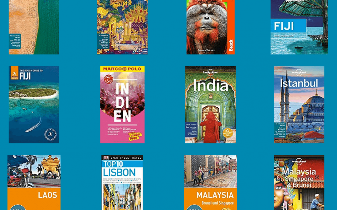 Reiseführer, Bildbände und Bücher für Reisende