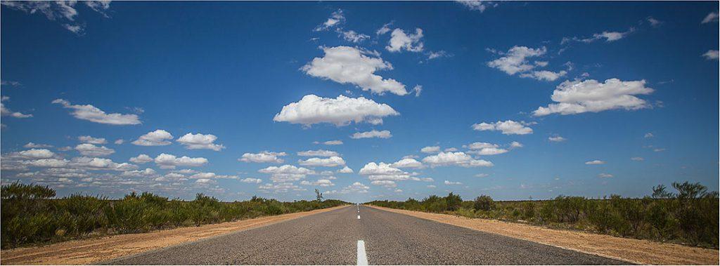 Straßen im Outback von Australien