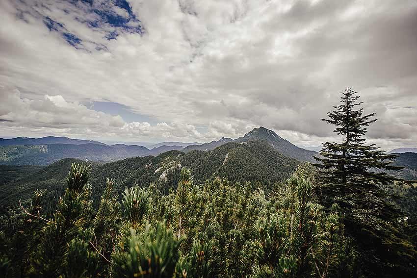 Rabenkopf Gipfel Ausblick